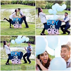 Baby Gender Reveal Idea