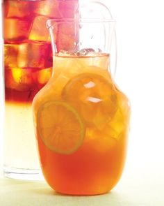 Pimm's Cup with Ginger Ale: This enduring classic conjures images of afternoon tennis matches and drinks on the lawn. Often made with lemonade alone, our cocktail includes ginger ale to mellow the flavor of Pimm's -- a fruity, spicy gin-based liqueur -- and make it effervescent. By mixing in ginger ale, we mellowed the flavor and made it pleasantly fizzy. Servings: 8