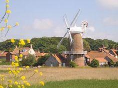 Windmill at Cley-next-the-sea, Norfolk UK