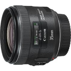 Canon Lens EF 35mm F/2 IS USM - I do need a decent wide angle.