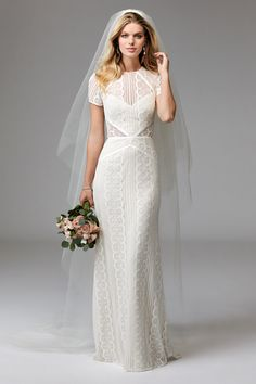 @watterswtoo Wtoo Style 17120B Lenora Wedding Gown.