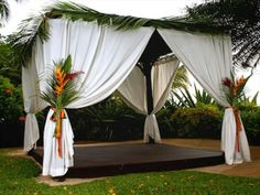 Beautifully classic and elegant gazebo at The House by Elegant Hotels, Barbados.