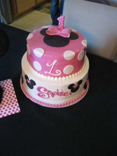 kaylee's Minnie Mouse First Birthday | CatchMyParty.com