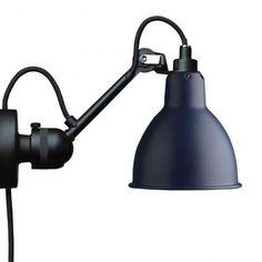 Lampe Gras N°304 Wandlamp zwart