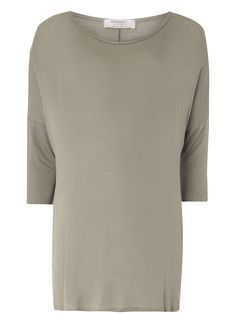Dorothy Perkins Womens **Maternity Khaki Longline Boxy Tee- Khaki jersey knit longline boxy shaped tee with long sleeves and scooped neckline. Sits comfortably over the bump. Wearing length approx. 74cm. 97% Viscose, 3% Elastane. Machine washable. http://www.MightGet.com/january-2017-13/dorothy-perkins-womens-maternity-khaki-longline-boxy-tee-.asp