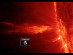 M4.3 Solar Flare, Huge Sunspots | S0 News October 17, 2014
