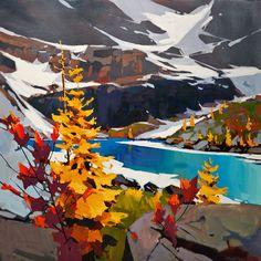 Striking Colours at Lake Oesa, by Michael O'Toole
