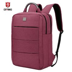 45759797f896 DTBG Four Colors Nylon Business bags 15.6 inch for unisex Laptop Backpacks  Travel Knapsack School Backpack Casual Fashion style-in Backpacks from  Luggage ...