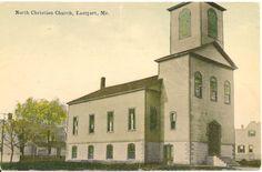 North Christian Church Eastport ME Postcard