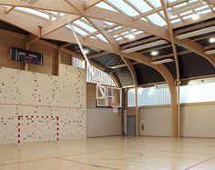 Galería de Gimnasio Régis Racine / Atelier d'Architecture Alexandre Dreyssé - 13
