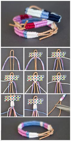 Keren ~ 10 Cara mudah membuat gelang dari tali