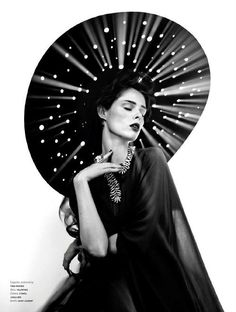 Fashion Editorial: Coco Rocha for L'Officiel Italia September 2014.