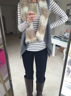 This super cute vest is from StitchFix, along with more fun fashion finds and holiday wardrobe updates.