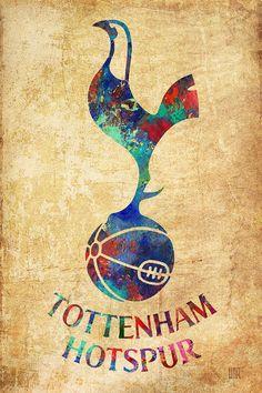 Tottenham Hotspur Vintage Painting by Dan Haraga