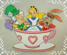 free printable......Alice in Wonderland Scrapbook Accents