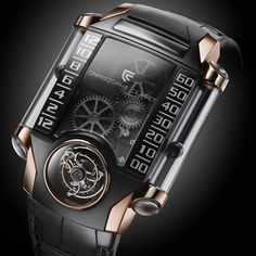 Introducing The Future Of Watches-Christophe Claret X-TREM-1
