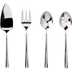 Oona Serving Set in Serving Pieces and Sets   Crate and Barrel