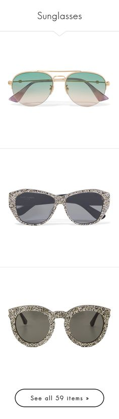 """""""Sunglasses"""" by singlemom ❤ liked on Polyvore featuring accessories, eyewear, sunglasses, occhiali, tortoise glasses, tortoise shell sunglasses, linda farrow glasses, tortoise shell eyewear, linda farrow and glasses"""