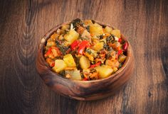 One of my favorite dishes is country style potatoes. The potatoes are brown and crunchy on the outside and creamy on the inside. The onions caramelize and the peppers get soft. It is a hearty dish on its own or great with eggs. I have also found that this dish makes a great unexpected side […]