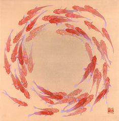 "Shinji Oya ""Golden Wheel"" [^] 大矢真嗣「金輪」"