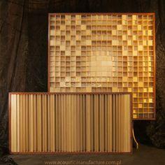 2D & 1D diffusers, acoustic panels, acoustic panel