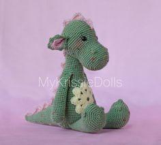 Crochet Pattern-Dragon Julia by MyKrissieDolls on Etsy