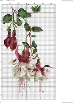 (83) Gallery.ru / Фото #4 - 68 - kento Cross Stitch Borders, Cross Stitch Rose, Cross Stitch Flowers, Cross Stitch Kits, Cross Stitch Charts, Cross Stitch Designs, Cross Stitching, Cross Stitch Embroidery, Cross Stitch Patterns
