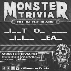 Congratulations to @qb23nine8nine on being this rounds Monster Trivia winner! If you would email us at Hauntedelementary@gmail.com we will send you your tickets! Feel free to play again and win MORE free Tickets.