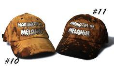 7f88d23f27f YngYng and dstrsd Yng   Dstrsd Marinatn  In Melanin Dad Hat. Bleach and  distressed melanin dad hat. custom diy piece