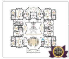 Luxury House Plan 3 by Antonovich Designs   MANSION FLOORPLANS ...