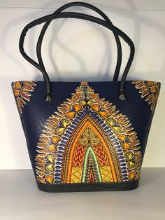 African Handmade Purse  African Print Material  by SimbaBCrafts