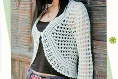 Free Pattern for Crochet Summer Bolero - Beginner Crochet Bolero Tips
