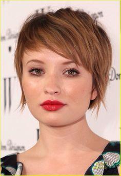 Cute...I like her bangs