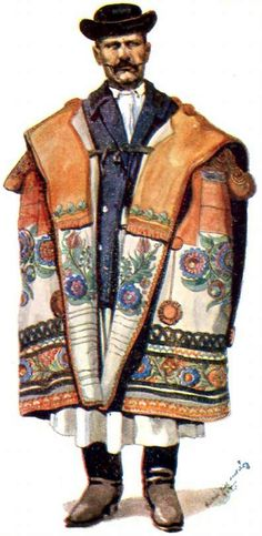 Szűr – American Hungarian Museum – Amerikai Magyar Múzeum Folk Costume, Costumes, Felt Applique, Hungary, Folk Art, Culture, Traditional, American, Military