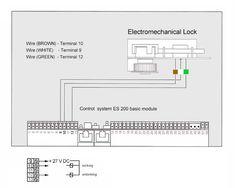 Dorma ES200 Wiring Diagram Microwave Radar Sensor