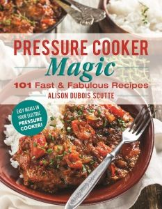 Pressure Cooker Magic 101 Fast and Fabulous Recipes This paperback wonder is choc full of pictures of some great sounding recipes you can make in your pressure cooker. What's so great about a…