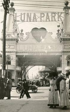 Old Coney Island Luna Park New York City Amazing Photo | eBay
