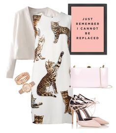 """dress"" by masayuki4499 ❤ liked on Polyvore featuring WithChic, Dolce&Gabbana, Fratelli Karida, Rocio, Henri Bendel and Michael Kors"