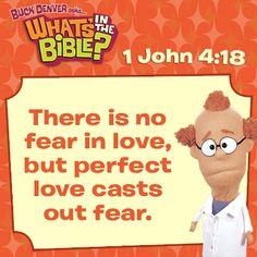 1 John 4:18 Short, free devotional for this verse. whatsinthebible.com