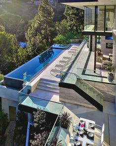 """Luxury Homes Interior Dream Houses Exterior Most Expensive Mansions Plans Modern 👉 Get Your FREE Guide """"The Best Ways To Make Money Online"""" Design Exterior, Modern Mansion, Modern Houses, Large Houses, Los Angeles Homes, Houses In Los Angeles, House Goals, Modern House Design, Future House"""