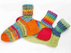 Villasukan kantapää – kolme ohjetta Wool Socks, Knitting Socks, Boot Cuffs, Crochet Accessories, Handicraft, Fingerless Gloves, Arm Warmers, Mittens, Knit Crochet
