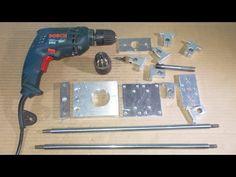 Homemade Wood Metal Mini Lathe Press Drills DIY Collet ER11 Headstock Ch...