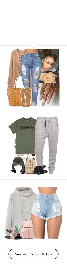 by jadahnicole ❤ liked on Polyvore featuring MCM, Armani Exchange, Boulezar, Aamaya by Priyanka, Puma, Burberry, Lime Crime, Paige Novick, MANGO MAN and BP.