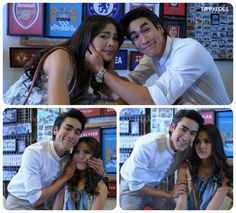 of nadech touching yaya in all 3 photos lol! Best Thai, Cute Couples, Sweet Couples, Young Fashion, Drama Movies, Celebs, Celebrities, Superstar, Beautiful People