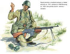 View album on Yandex. Ww2 History, Military History, Military Art, Military Uniforms, Poland Ww2, Military Tactics, Classic Army, Military Diorama, Ghibli