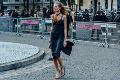 Paris Fashion Week Street Style - via studded-hearts.com