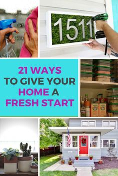 These quick and inexpensive home improvement DIY ideas will reboot your home, and help you usher in some fresh energy.