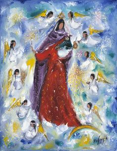 Madonna and Child by Ted DeGrazia