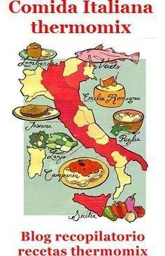 :D Recopilatorio de recetas thermomix: Cocina italiana thermomix (recopilatorio) Rome Tours, Italy Tours, Vatican Tours, Italy Trip, Italian Dishes, Italian Recipes, Food Map, Italy Food, Learning Italian