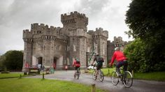The Castle where Beatrix Potter had her holidays as a child. Wray Castle came to us without its contents so you will not see a 'typical' National Trust house full of paintings, furniture and antiques with an accompanying owner-family history through the ages.
